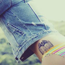 タトゥーがあると脱毛ができない!?刺青を入れている人の脱毛方法
